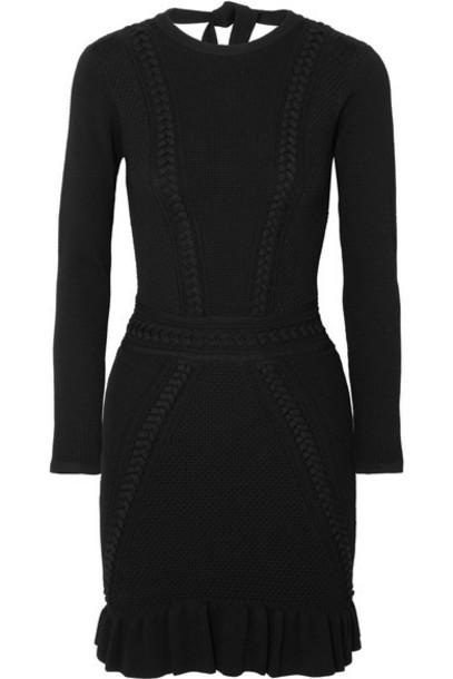 Rebecca Vallance dress mini dress mini black knit