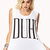 DUH! Muscle Tee | FOREVER21 - 2000076345