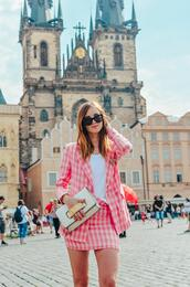 vogue haus,blogger,jacket,skirt,top,bag,shoes,jadore,dior bag,blazer,pink jacket,suit,summer outfits