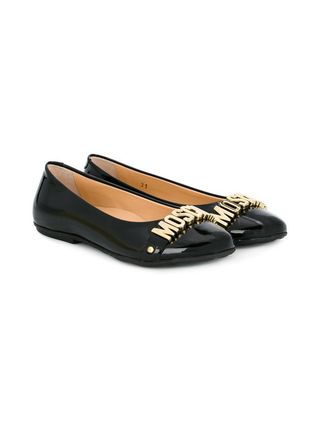 Moschino Kids shoes leather black