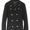 Naval cashmere pea coat by burberry | moda operandi