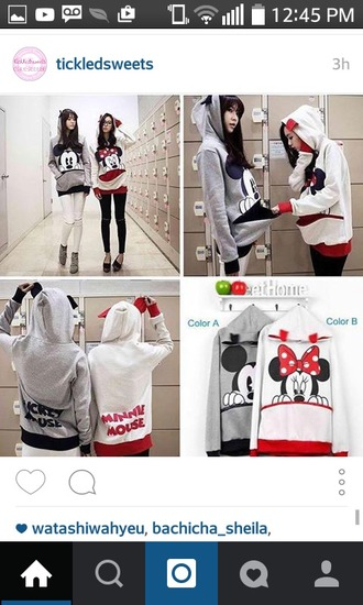 minnie mouse cute korean fashion bff