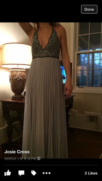 dress prom halter dress
