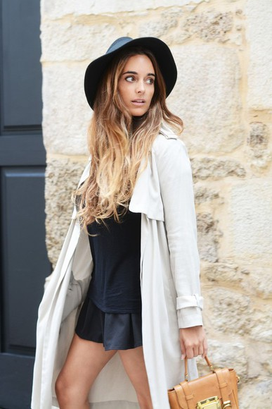 bag trench coat shoes stella wants to die skirt hat zara