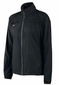 Womens Zoom Running Lightweight Windbreaker Jacket Black 453185 ...