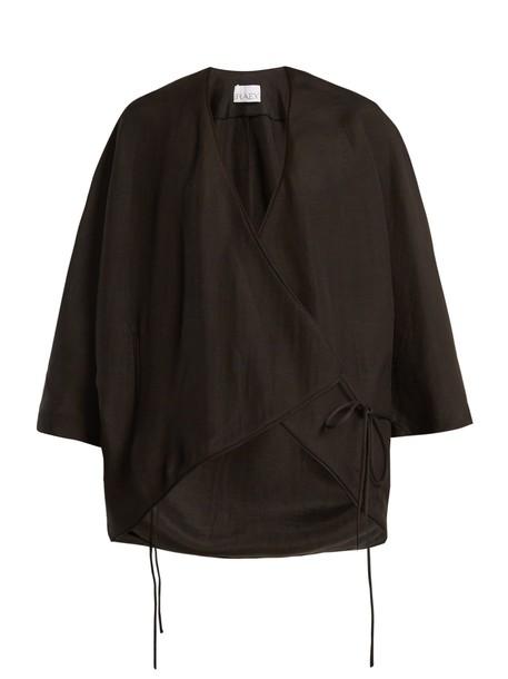 Raey jacket kimono jacket black