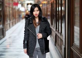 shoes rosa pel's blog jewels pants sweater coat