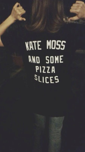 kate moss t-shirt pizza
