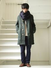 coat,wool,mori kei,jacket,green,buttons,parka,clothes,comfy,japanese,japanese fashion,asian,winter outfits,fall outfits,oversized,menswear