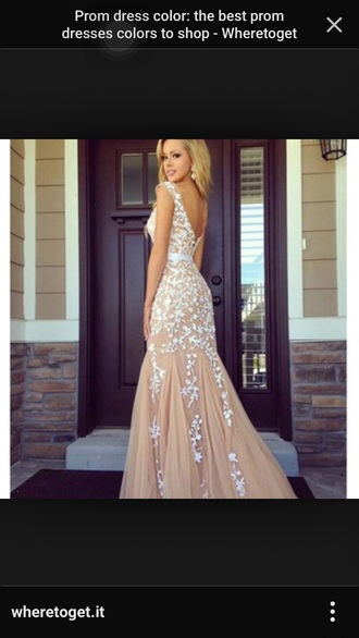 dress nude dress sherri hill