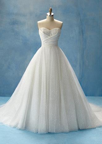 dress white white dress wedding dress wedding clothes cinderella dress cinderella sparkle dress sparkles