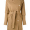 Herno - trench coat - women - cotton - 42, brown, cotton