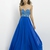 A-line Straplss Sweetheart Beadings Cutout Back Chiffon Prom Dress PD11692