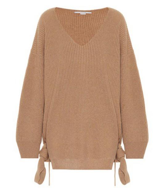 Stella McCartney sweater wool sweater wool brown