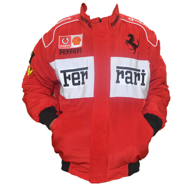 Get the lana del rey ferrari jacket look!