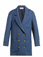 blazer,oversized,blue,jacket