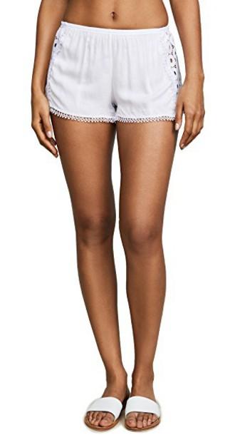 Peixoto shorts white