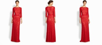 dress lace tadashi red dress red lace red lace dress shoji