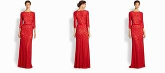 dress tadashi red dress red lace lace red lace dress shoji