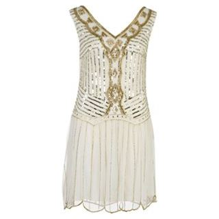 At Republic Flapper Embellished Dress - USC