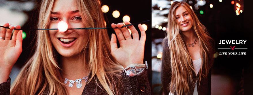 Womens jewelry: necklaces, bracelets & earrings