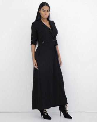 dress black dress coat dress maxi dress black maxi dress