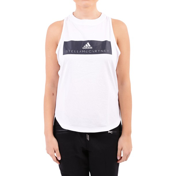 ADIDAS BY STELLA MCCARTNEY top white