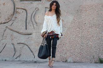 madame rosa blogger blouse belt bag