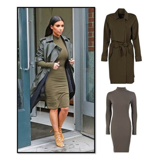 Coat: khaki, summer outfits, fashion stunning, love this, kim ...