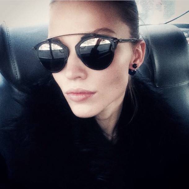 sunglasses black dior