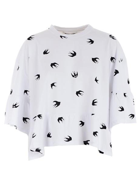 McQ Alexander McQueen t-shirt shirt t-shirt short white top