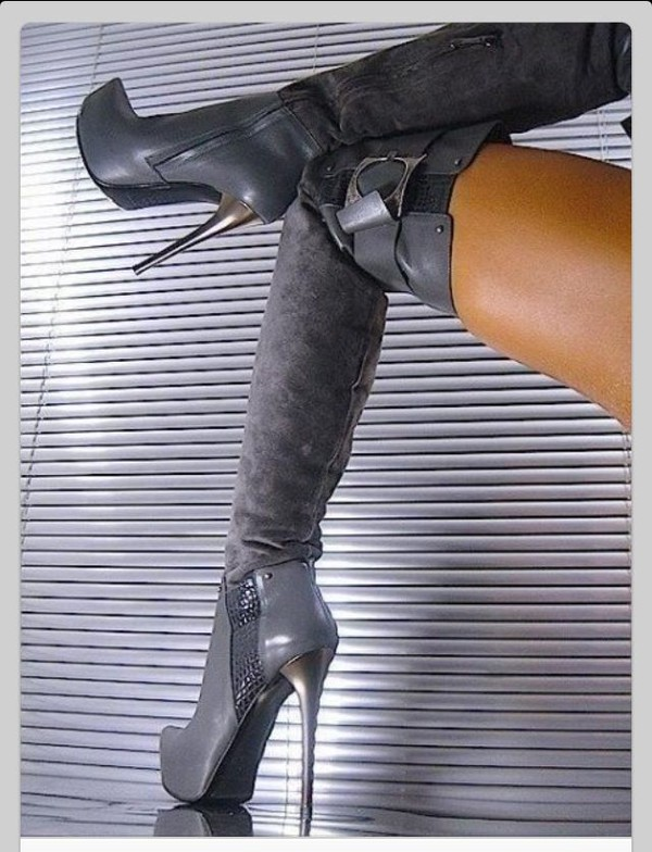 boots thigh high boots fashion style glamgerous