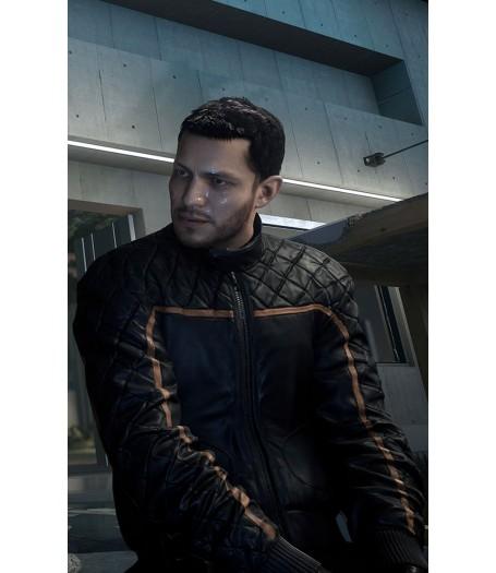 Battlefield Hardline Jacket | Nicholas Mendoza Leather Jacket
