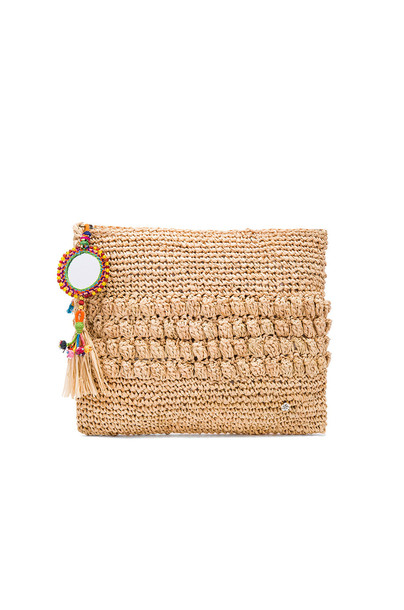 florabella clutch tan