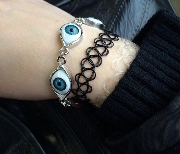 jewels eye turkish eye grunge jewelry