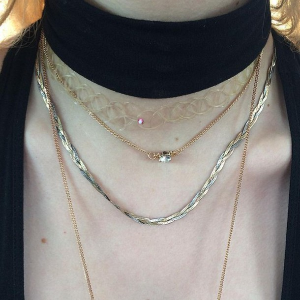 Jewels Choker Necklace Heroingranola Choker Necklace Aesthetic Cyber American Apparel Aesthetic Tumblr Aesthetic Square Edgy Modern Minimalist Minimalist Jewelry Minimalist Health Goth Ghetto Soft Ghetto Soft Grunge Grunge Hipster