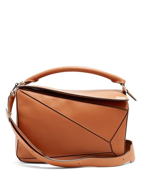 LOEWE bag leather bag leather tan