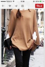 cardigan,jumper,sweater,camel,long shawl