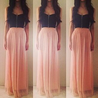 long length pink skirt girly girl tumblr skirt outfit skirt classy style colorful maxi skirt maxi instagram fashion instagram skirt