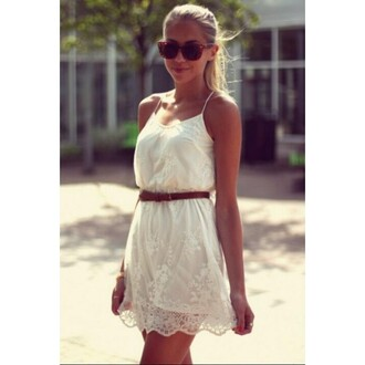 dress white lace embroidered suspenders sleeveless girly fashion sexy maiden white lady ladylike angel best price summer cool dress social girl debutante selebrity lace dress party dress sexy party dresses gentlewomanly dress cool dresses nightclub sexy dress
