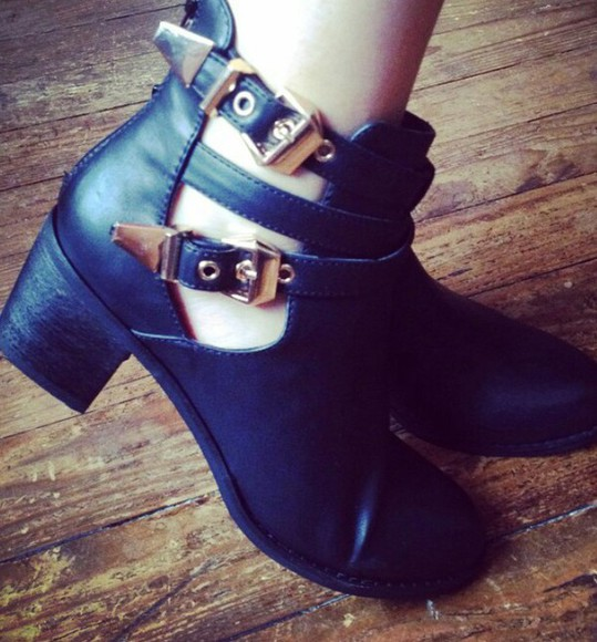 cut-out boots cutoutbooties openboots