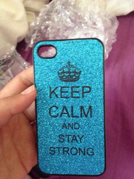 jewels phone cover iphone stay strong colorful iphone cover iphone case iphone 4 case keep calm