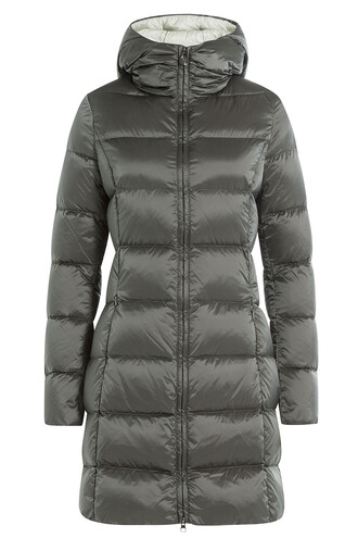 coat quilted grey