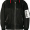 Alexander wang - mesh bomber jacket - women - nylon/polyester/spandex/elastane/viscose - xs, black, nylon/polyester/spandex/elastane/viscose