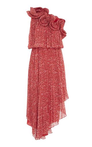 Carole Prined Chiffon Midi Dress by AMUR | Moda Operandi