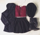jacket,black,winter jacket,winter coat,cold,shirt,jewels,scarf,shoes,skirt,sweater,dress,t-shirt,hat,top
