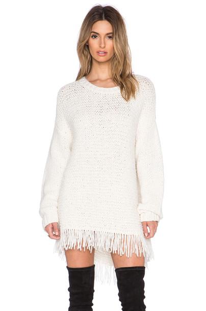 sweater fringe sweater