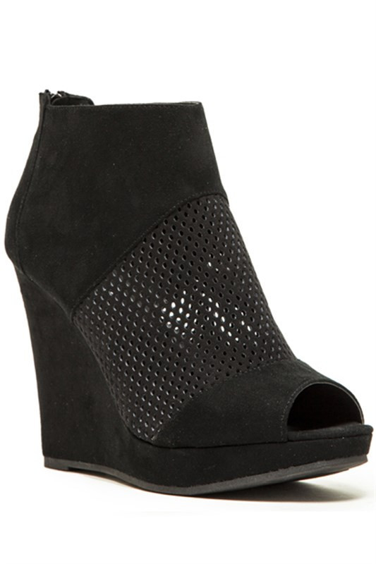 The valerie peep toe shoe