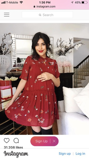 dress sazan hendrix