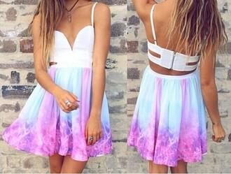 galaxy dress mini dress